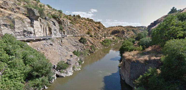 El río Tajo a su paso por Toledo / Plataforma en Defensa del Tajo