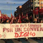 Los trabajadores de la limpieza convocan seis jornadas de huelga en Toledo
