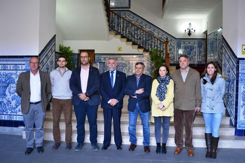 Reunión del alcalde de Talavera con Ciudadanos