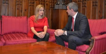 Diputación de Toledo y Fomento analizan la atención a familias con necesidades