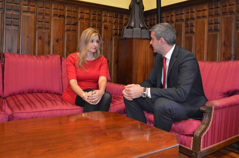 Elena de la Cruz y Álvaro Gutiérrez
