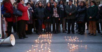 'El maltrato no es un juego': Toledo contra la violencia machista
