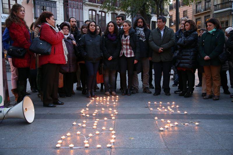 Concentración en Toledo contra la violencia machista