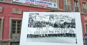 El Pleno de Talavera aprueba una moción para cerrar el trasvase Tajo-Segura