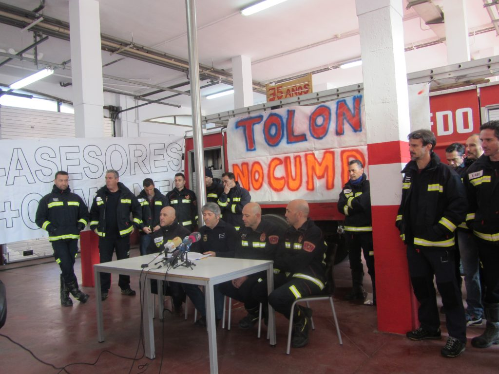 Bomberos de Toledo / Foto: Diego Jimeno Manrique