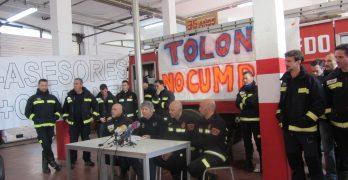 Las reclamaciones de los bomberos sorprenden al Ayuntamiento