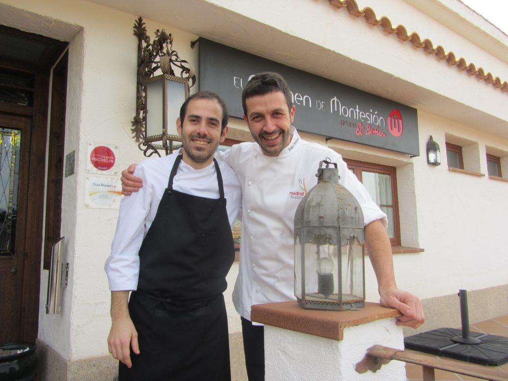 Alberto García (Jefe de cocina) junto a Iván Cerdeño / Foto: Diego Jimeno Manrique