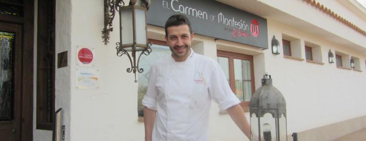 Iván Cerdeño, chef de El Carmen de Montesión / Foto: Diego Jimeno Manrique