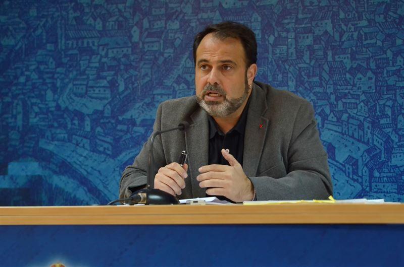 El concejal de Servicios Sociales, Javier Mateo