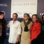 El toledano Ulises Mérida muestra sus diseños en la Semana de la Moda de Madrid