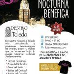 'Destino Toledo' organiza una ruta nocturna benéfica a favor de Apadat