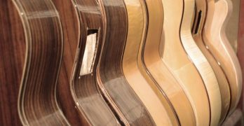 Diez guitarras de Manuel Rodríguez en la feria alemana Musikmesse