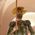 La dulce celebración de un Quijote de mazapán de más de tres metros