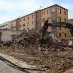 Los vecinos de Santa Bárbara participarán en el debate urbanístico tras el derribo de las casitas bajas