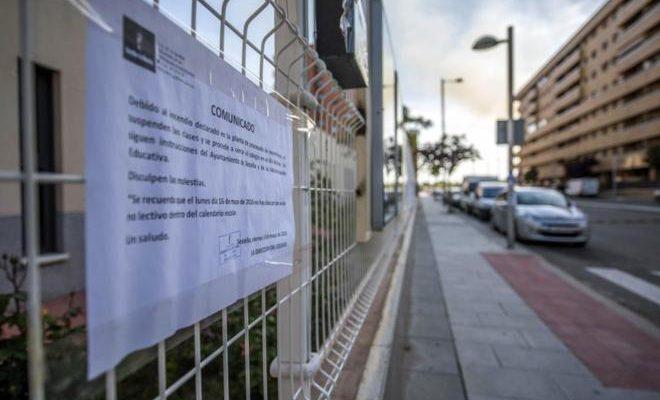 Todos los centros escolares permanecerán cerrados este lunes en Seseña