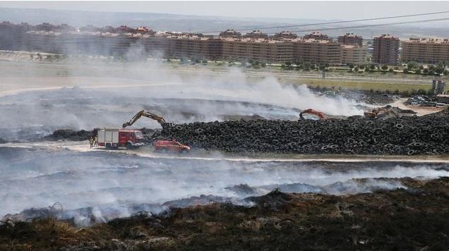 Incendio de Seseña en 2016