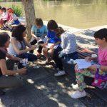 Medio millar de alumnos aprenden el uso responsable del Tajo