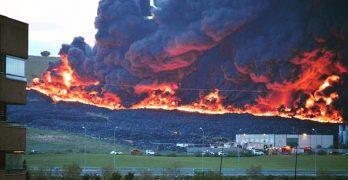 Arde el cementerio de neumáticos de Seseña abandonado por Madrid y Castilla-La Mancha
