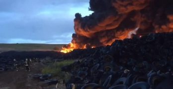 Un mes del incendio de Seseña: sin culpables y con una cuestionada calidad del aire