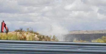 """Los vecinos, indignados por la """"irresponsabilidad"""" en las tareas de retirada del amianto en Toledo"""
