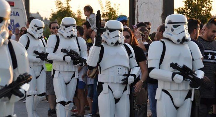 Soldados de la Legión 501 de Darth Vader desfilarán este lunes en Toledo