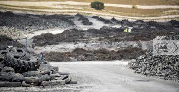 Luz verde para la retirada de neumáticos en el depósito ilegal de Yunclillos