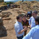 Descubierta una tumba del siglo VII en el yacimiento 'Los Hitos' de Arisgotas