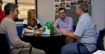 Migas solidarias en Toledo por la inclusión de personas con discapacidad