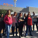 Los trabajadores de Atento se movilizan contra las amenazas de recorte de sueldo