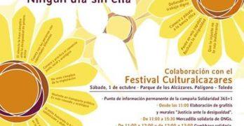 Festival Culturalcázares: música, cooperación y solidaridad en Toledo