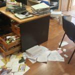 """""""Escalada de violencia"""" en Burguillos: asaltan y roban en el Ayuntamiento"""