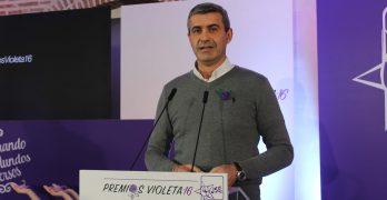 """Álvaro Gutiérrez: """"Nunca más violencia contra las mujeres"""""""