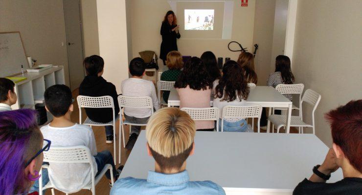 El CIBRA enseña a los jóvenes los pormenores del rodaje de un corto