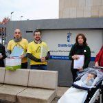 Más de un millar de padres y madres del Polígono exigen la retirada del amianto