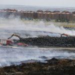 Madrid terminará de retirar las cenizas de Seseña a mediados de mes