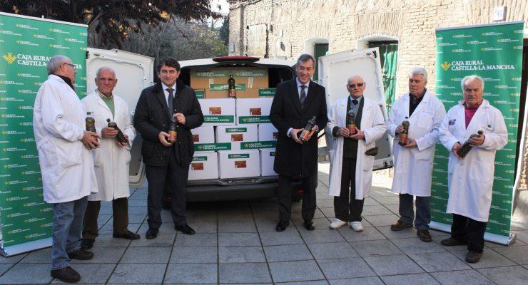Cipriano, 'el amigo de los pobres', repartirá 38.000 kilos de comida en Toledo en enero