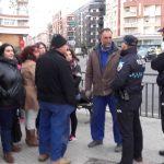 Protestas por la obra de una gasolinera junto a un colegio que Talavera no logra paralizar
