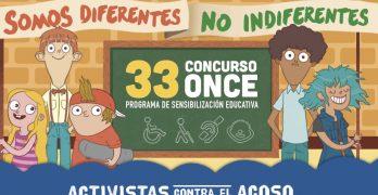 Los escolares toledanos se suman al concurso de la ONCE contra el acoso escolar