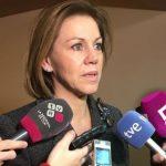 Podemos pide a IU presentar mociones en ayuntamientos de la región para declarar a Cospedal 'persona non grata'