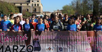 """Unas 600 personas participan en la IV Carrera Solidaria """"Mujeres y Hombres por la igualdad"""""""