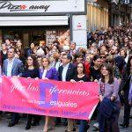 Suma de fuerzas a favor de la igualdad en la marcha de Toledo por las mujeres