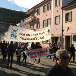 """La Plataforma del Tajo en Toledo protesta en Portugal por un río """"que muere"""""""