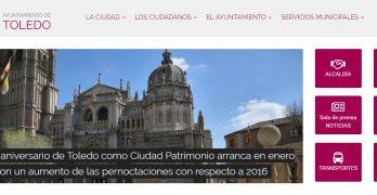 """El Ayuntamiento de Toledo estrena web """"más accesible y transparente"""""""