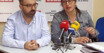 """CCOO y Ganemos denuncian el """"engaño"""" de los Presupuestos del Estado con Talavera"""