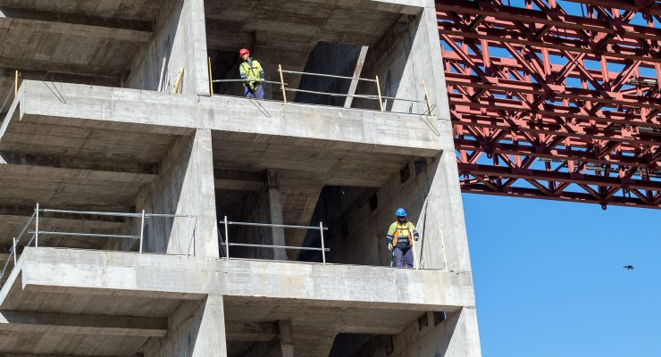 Las obras del nuevo Hospital de Toledo, en tres líneas de producción simultáneas