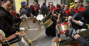 La Tamborada de Hellín llega a Toledo