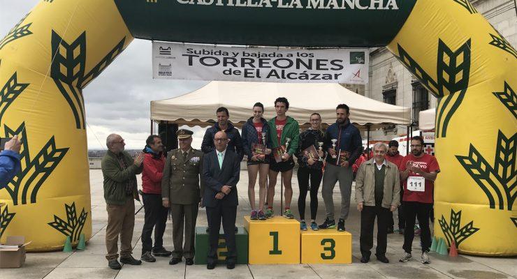 Christian López y Ana Arribas, ganadores de la 4ª Carrera 'Torreones del Alcázar'