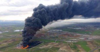 Preguntas y respuestas sobre el incendio del vertedero de neumáticos de Seseña un año después