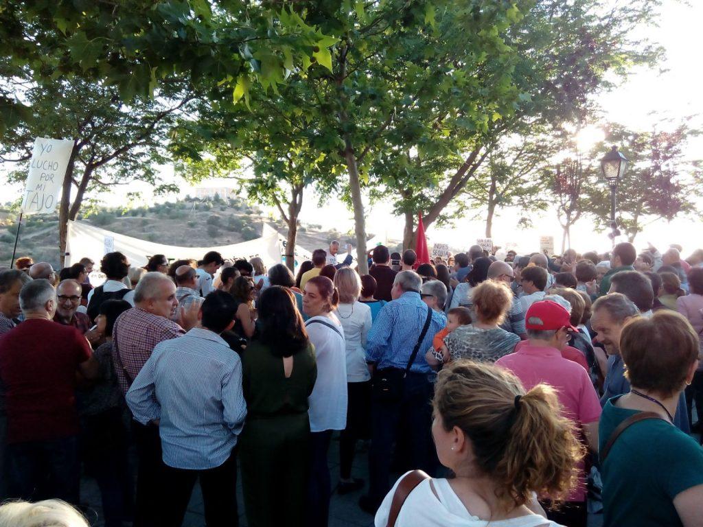 Foto. Plataforma de Toledo en Defensa del Tajo