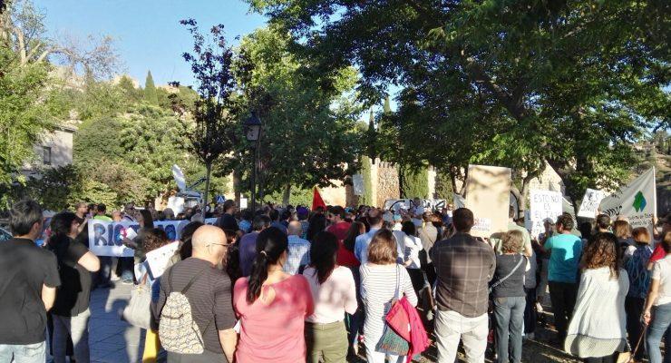 """Toledo condena el trato """"vejatorio"""" que recibe el Tajo y su situación límite"""